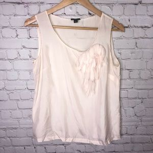Ann Taylor Tops - Ann Taylor Silk Sleeveless Top